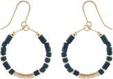 Accessorize Discy Beaded Hoop Earrings