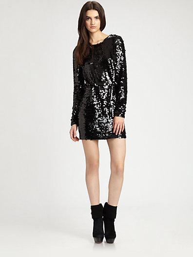 Rachel Zoe Selita Sequined Dress