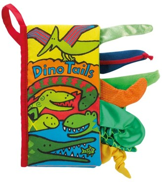 Jellycat Dino Tails Children's Soft Book
