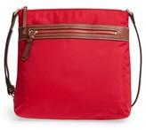 Halogen Nylon Crossbody Bag - Red