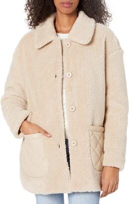 BB Dakota Women's Yeti-to-wear Faux Shearling Jacket