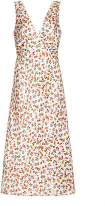 Ciao Lucia Caterina Silk Floral Dress