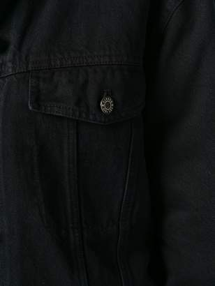 Closed cropped denim jacket