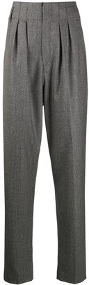 Isabel Marant High-Waisted Wide-Leg Trousers