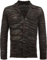 Roberto Collina loose knit cardigan - men - Linen/Flax/Polyester/Viscose - 52