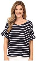 Calvin Klein Jeans Waffle Stripe Short Sleeve Shirt