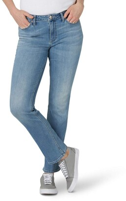 Lee Women's Regular Fit Straight Leg Jean
