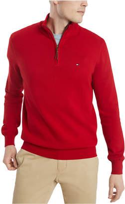 Tommy Hilfiger Men Quarter-Zip Sweater