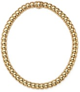 Bloomingdale's 14K Yellow Gold Barrel Collar Necklace, 16""