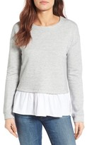Gibson Women's Layer Look Sweatshirt