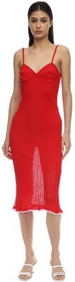 16r Dahlia Ruffled Knit Tank Dress