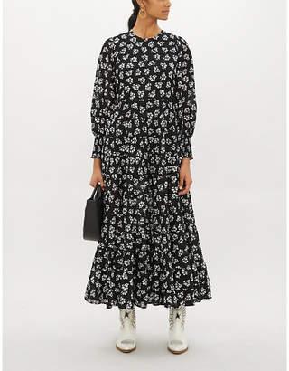 Rixo Pip stretch-woven dress