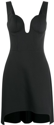 Alexander McQueen Boned Bodice Dress
