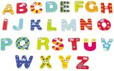Boikido Wooden Magnetic Capital Letters Set
