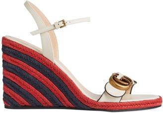 Gucci Women's espadrille sandal with DoubleG