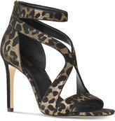 MICHAEL Michael Kors Harlen Strappy Open-Toe Dress Sandals