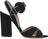 Tabitha Simmons contrast stitch sandals - women - Calf Leather/Leather/Suede - 36