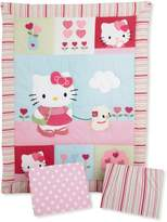 Bedtime Originals Hello Kitty and Puppy 3 Piece Bedding Set
