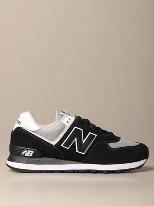 New Balance 574 Sneakers In Suede And Mesh