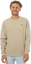 Swell Vacation Mens Crew Fleece Brown