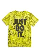Nike Toddler Boy's Legend Just Do It Aop Dri-Fit T-Shirt