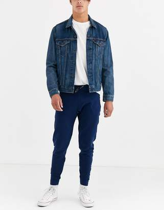 Levi's tapered logo joggers-Blue
