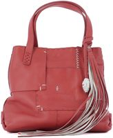 Henry Beguelin Red Leather Handle Bag