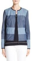 St. John Women's Devika Tile Print Reversible Jacket
