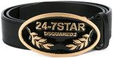 DSQUARED2 Cintura Vacchetta belt - men - Leather - 85