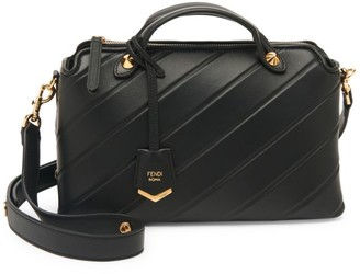 Fendi Medium By The Way Leather Satchel