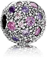 Pandora Clip - Sterling Silver & Cubic Zirconia Cosmic Stars, Moments Collection