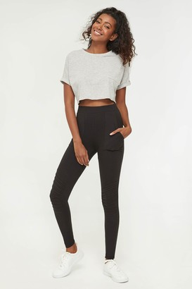 Ardene Moto Leggings with Patch Pockets
