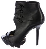 Camilla Skovgaard Leather Open-Toe Booties