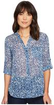 KUT from the Kloth Jasmine Collar Stand Yoryu Blouse Women's Blouse