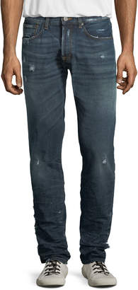 PRPS Men's Le Sabre Distressed Tapered Jeans