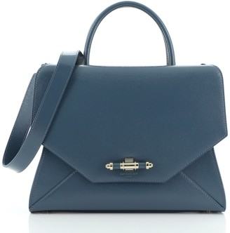 Givenchy Obsedia Satchel Patent Small