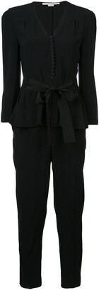 Stella McCartney peplum V-neck jumpsuit