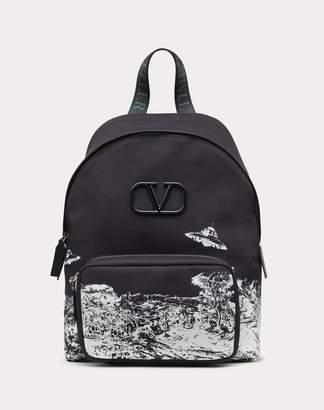 Valentino Garavani Uomo Garavani Undercover Backpack Man Black OneSize
