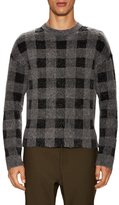 Balenciaga Checkered Wool Sweater