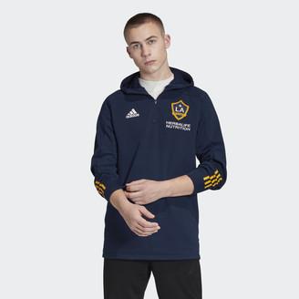 adidas LA Galaxy 3-Stripes Travel Jacket