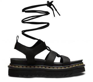 Dr. Martens Nartilla Hydro Black Sandal