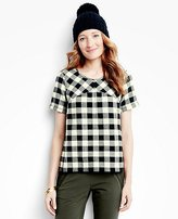 Women's Buffalo Check Shirt In Supersoft Flannel