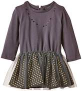 Absorba Baby-Girls 9G30114 Wonderland Polka Dot Dress