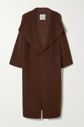 Totême Annecy Wool And Cashmere-blend Coat - Brown