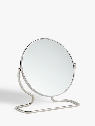 John Lewis & Partners Short Framed Pedestal Mirror