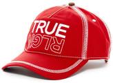True Religion Overlock Stitch Baseball Cap