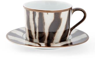 Ralph Lauren Home Kendall Zebra Tea Cup and Saucer