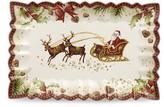 Villeroy & Boch Santa's Sleigh Rectagular Cake Plate