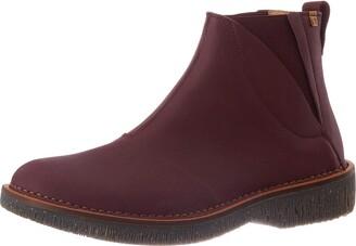 El Naturalista Women's N5570 Soft Grain Rioja/Volcano Ankle Boot 8.5 UK