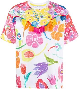 Mira Mikati floral print T-shirt